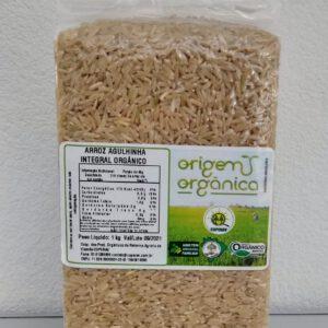 Arroz Agulhinha Integral Orgânico 1 Kg