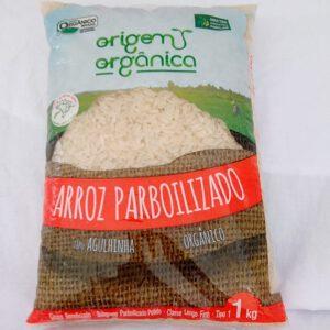 Arroz Parboilizado Orgânico1 Kg
