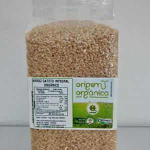 Arroz Cateto Integral Orgânico 1Kg