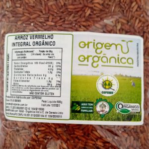 Arroz Vermelho Organico 500g