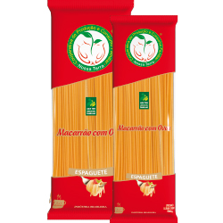 Massa Espaguete – Agricultura Familiar 1 Kg