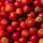 Acerola orgânica- bandejas de 300g